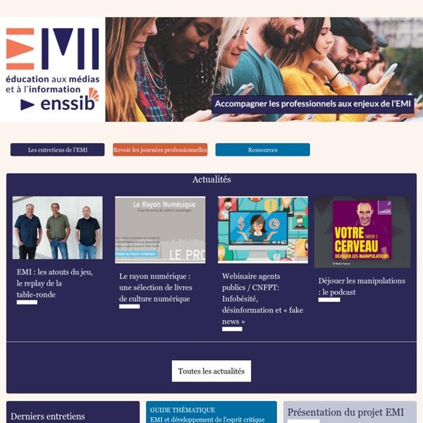 Enssib - Éducation aux médias et à l'information