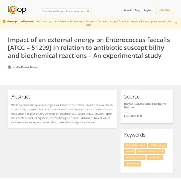 Enterococcus Faecalis Biochemical Characteristics
