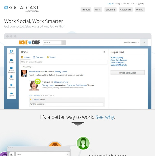 Enterprise Social Networking & Collaboration Platform
