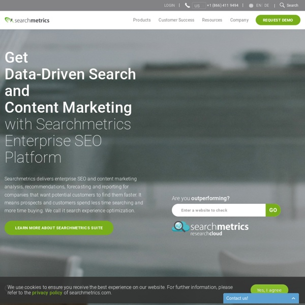 Enterprise SEO Platform and Search Analytics