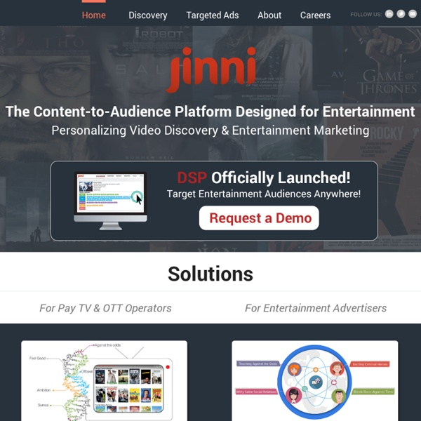 Find movies, TV shows matching your taste & watch online - Jinni