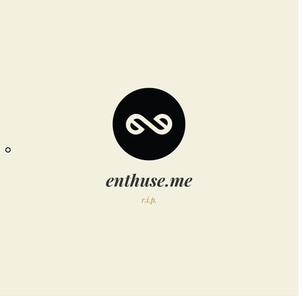 Enthuse.me - create an elegant profile to showcase your expertise