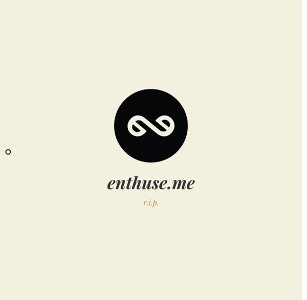 Enthuse.me - create an elegant profile to showcase your expertise