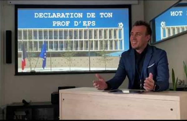 Continuité pédagogique EPS - Yoann Tomaszower - Académie Créteil