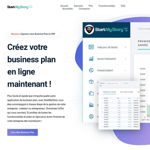 Business plan StartMyStory