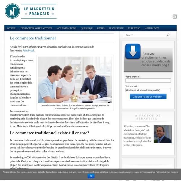 Formation marketing pour les entrepreneurs et chefs de TPE / PME, par un marketeur expérimenté