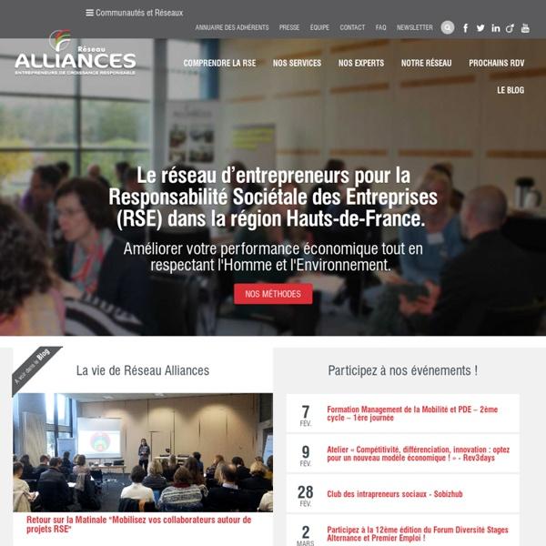 Alliances - pour la responsabilité sociale et environnementale