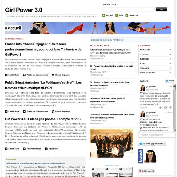 Le club des femmes et du numérique, des entrepreneuses, innovatrices et créatrices
