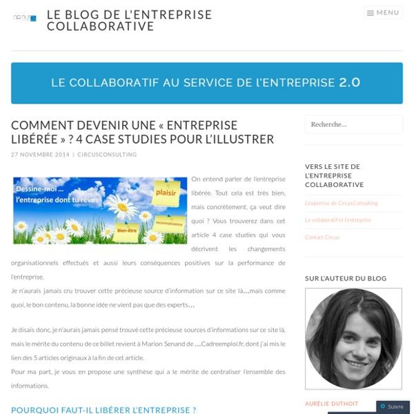2014/11 - Comment devenir une «entreprise libérée ? 4 case studies pour l'illustrer