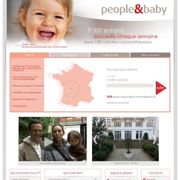 Creche d'entreprise et crèche de collectivites sur Paris et la France