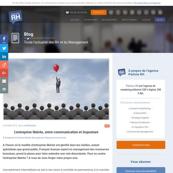 2015/05 - L'entreprise libérée, entre communication et imposture