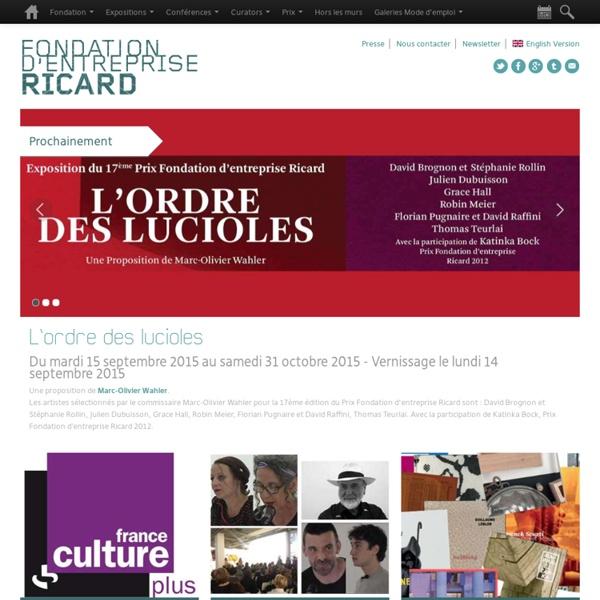 Fondation d'Entreprise Ricard / Art Contemporain