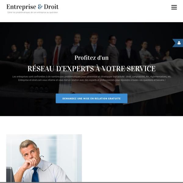 Entreprise et Droit - L'information juridique et comptable prati
