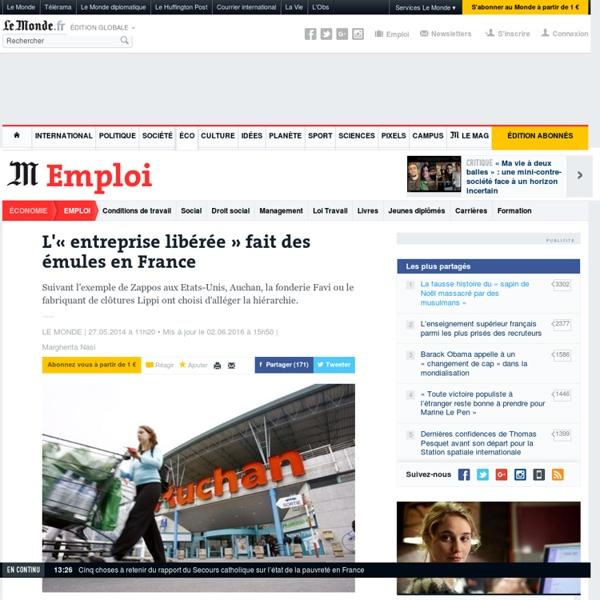 L'« entreprise libérée » fait des émules en France
