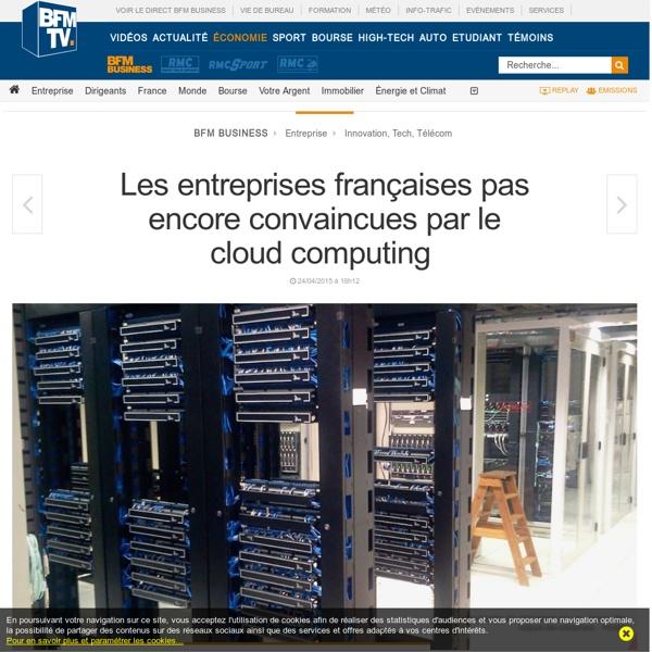 Les entreprises françaises pas encore convaincues par le cloud computing