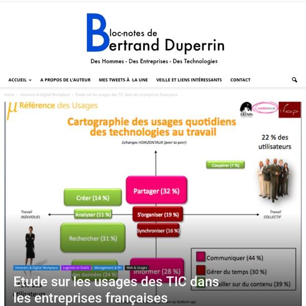 Etude sur les usages des TIC dans les entreprises françaises Bloc