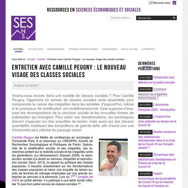 Entretien avec Camille Peugny : Le nouveau visage des classes sociales
