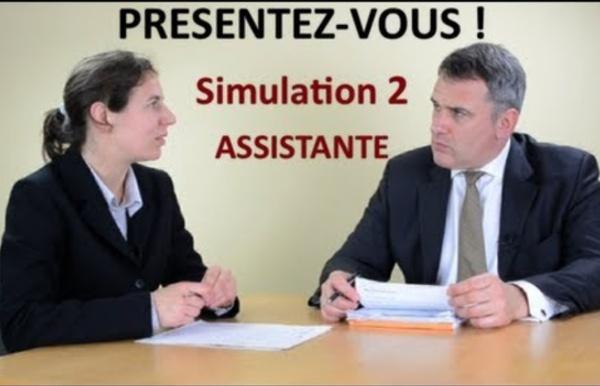 Entretien d'embauche simulation 2