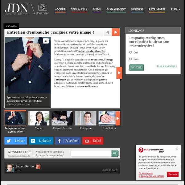 Entretien d'embauche : soignez votre image ! : Entretien d'embauche : soignez votre image!