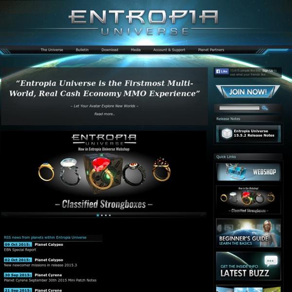 Entropia Universe Portal