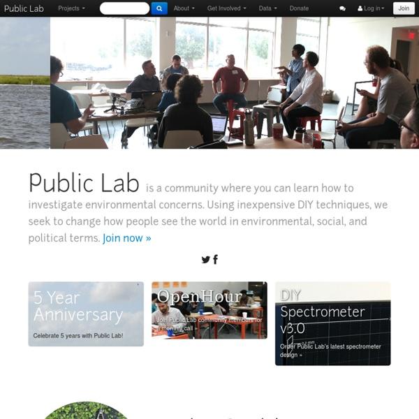 Public Lab: a DIY environmental science community