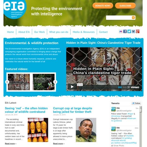 EIA - Environmental Investigation Agency