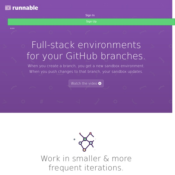 Featured Related Tags - Runnable