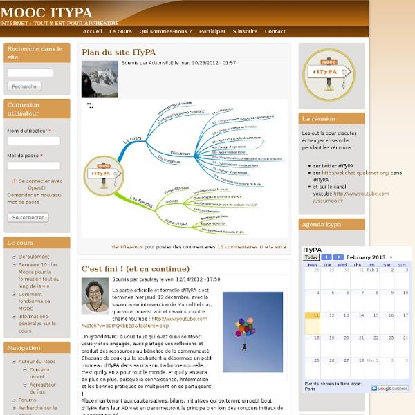 Le MOOC pour construire son EAP