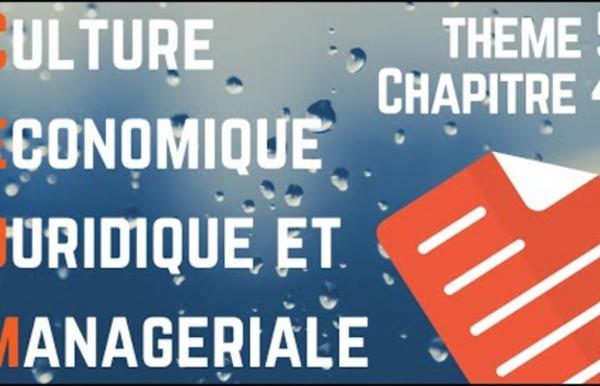 CEJM - Th5 Chap5: L'environnement juridique du salarié