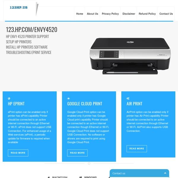 HP Envy 4520 Printer Install & Setup | Pearltrees