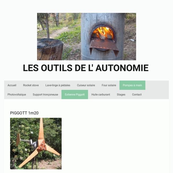 Les outils de l'autonomie - Eolienne Piggott