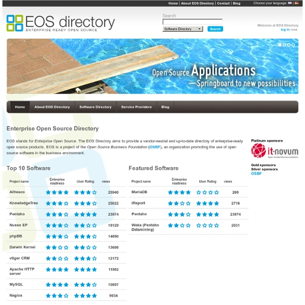 EOS Directory-Home