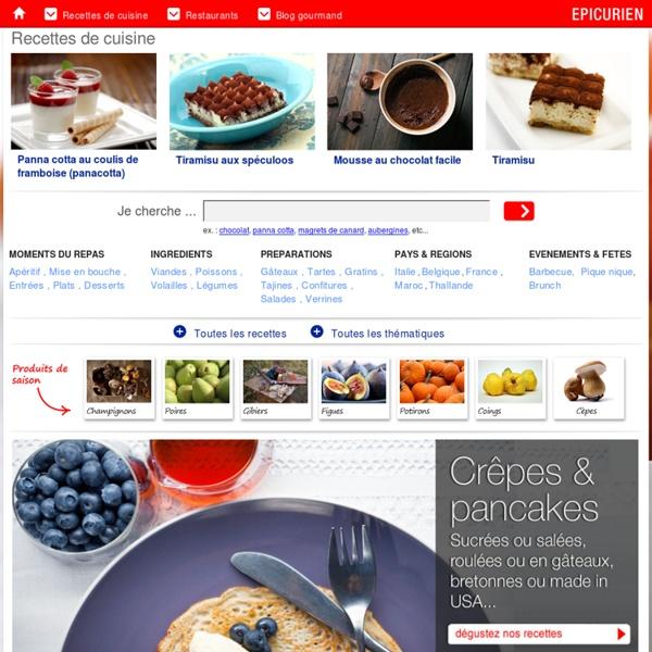 6000 recettes de cuisines & menus faciles pour les amoureux du goût