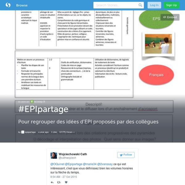 Storify #EPIpartage (mutualisation via Twitter) - B. Pierrat