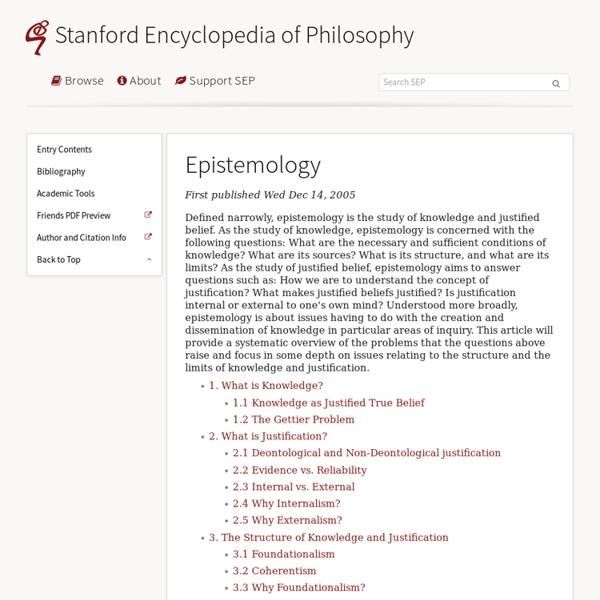 Is justified true belief knowledge essay