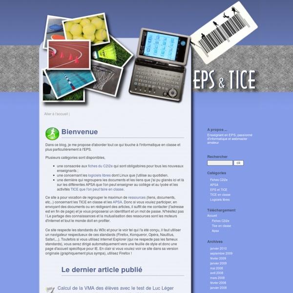 EPS et TICE