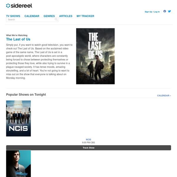 Watch TV Online - TV Shows - Series, Episodes, Seasons - SideReel