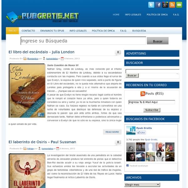 EpubGratis - Libros en Formato Epub
