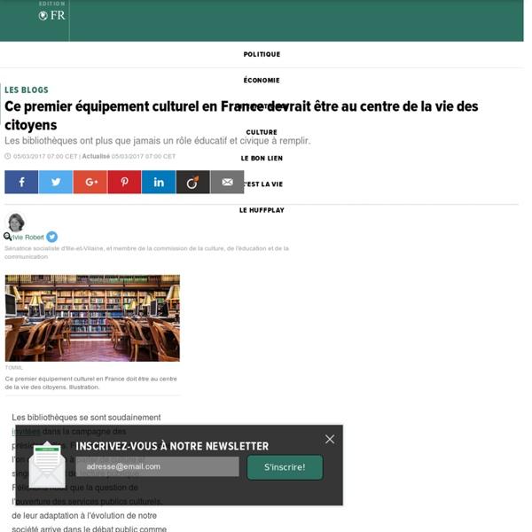 Ce premier équipement culturel en France devrait être au centre de la vie des citoyens