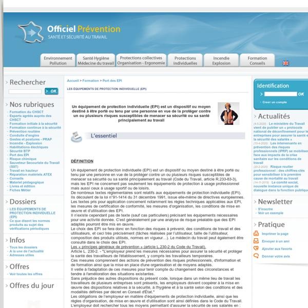 Obligations & règlementation