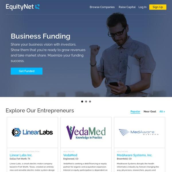 The Leading Business Crowdfunding Platform