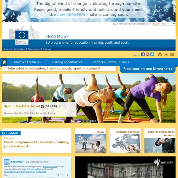 Erasmus+ homepage