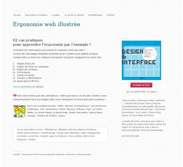 Ergonomie web illustrée
