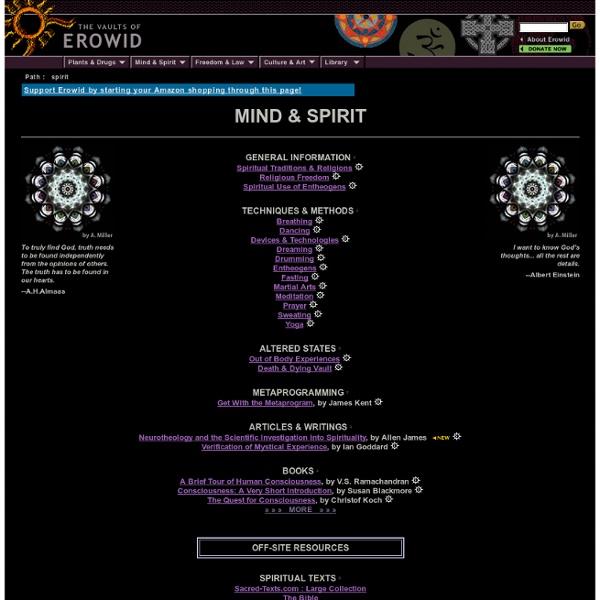 Mind & Spirit Vaults