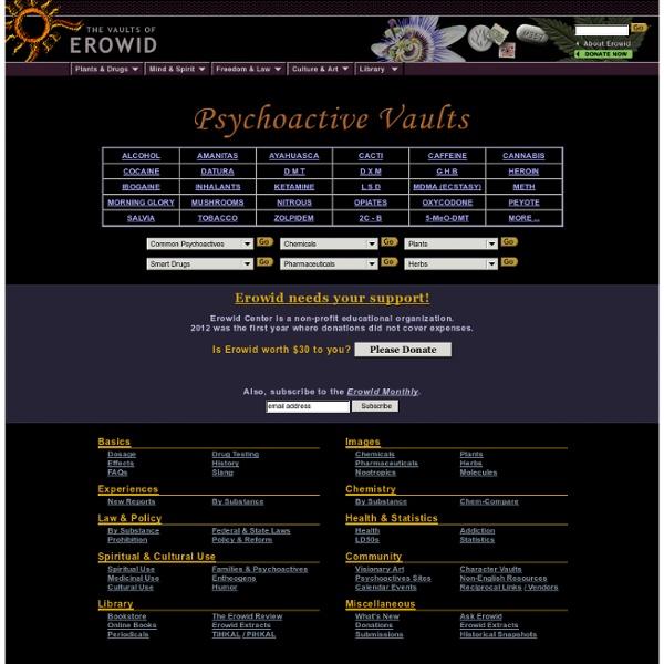 Psychoactive Vaults