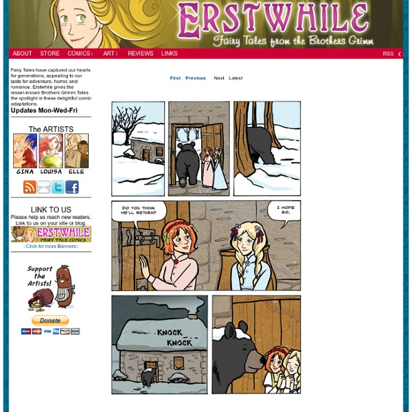 Erstwhile - Fairy Tale Comics Grimm Brothers Folk Tales