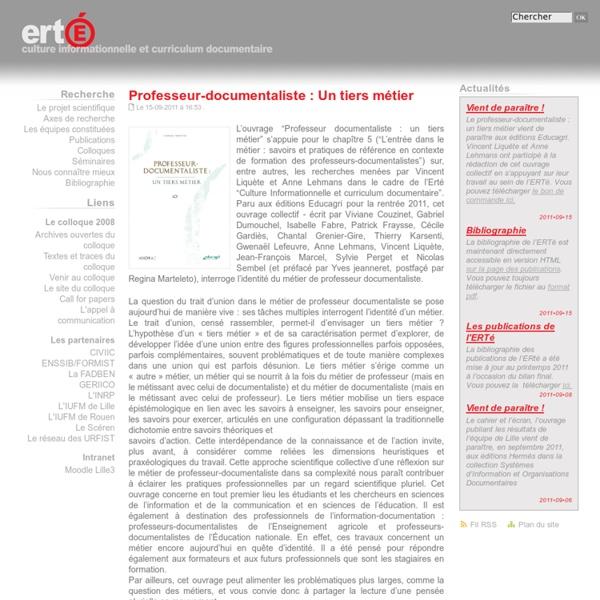 ERTé Culture informationnelle