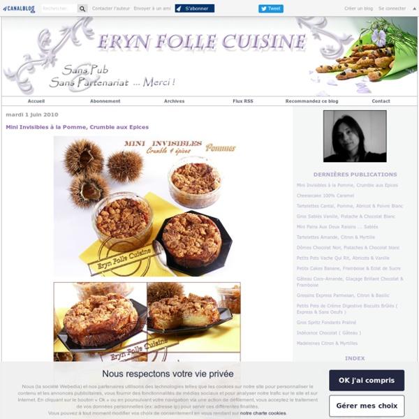 Eryn et sa folle cuisine