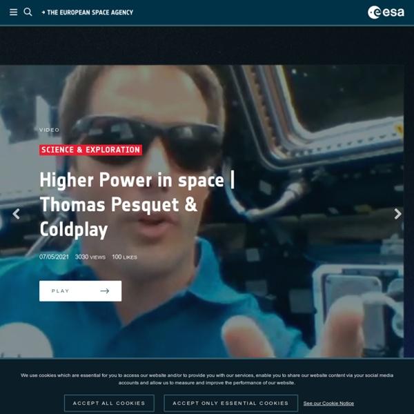 ESA -Agencia Espacial Europea - Spain