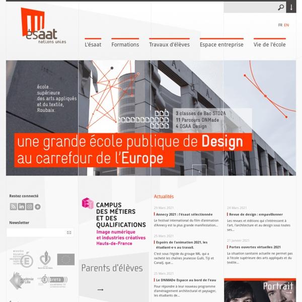 L'Esaat, une école de design singulière... - ESAAT